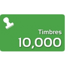 10000 Timbres Fiscales
