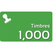 1000 Timbres Fiscales