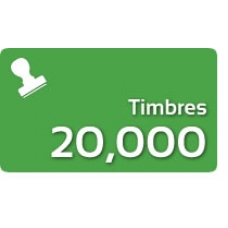 20000 Timbres Fiscales