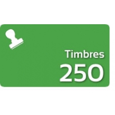 250 Timbres Fiscales