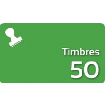 50 Timbres Fiscales