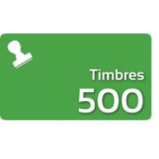 500 Timbres Fiscales