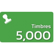 5000 Timbres Fiscales